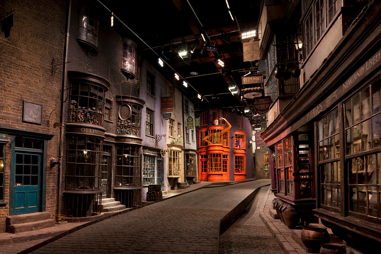 Warner Studios Harry Potter