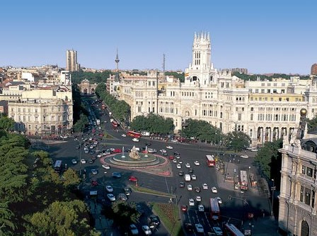 Aerial view of Madrid © Turismo Madrid