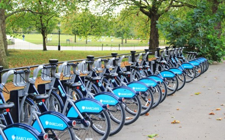 July - Top5 - Hyde Park cycle hire