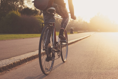Cycling in london parks