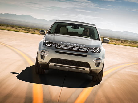 Land Rover Discovery Sport © JaguarLandrover Ltd