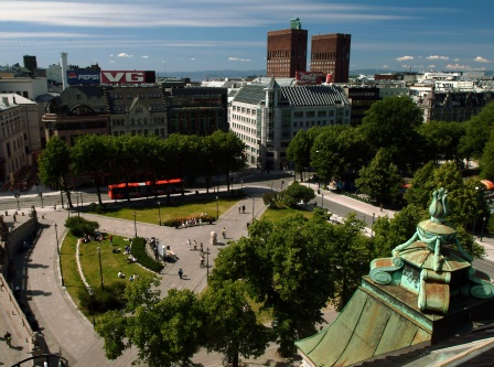 Oslo, On Karl Johan, ©VisitOSLO, Nancy Bundt