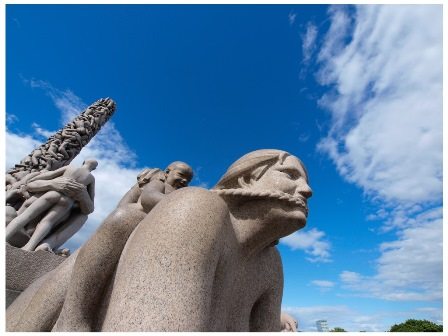 Oslo, The Vigeland Sculpture Park, ©VisitOSLO, Nancy Bundt