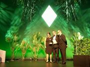 Richard Young collects Best Rail Operator award