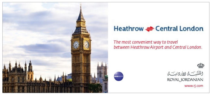 The most convenient way to travel between Heathrow Airport and Central London