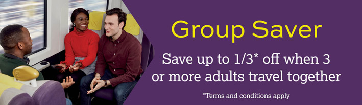 Group Saver - Save up to a 1/3 off when 3 or more adults travel togehter