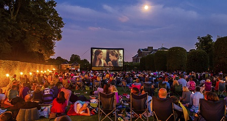 See great films in incredible settings