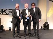 Sir Peter Hendy, Keith Harding and Stephen Mangan