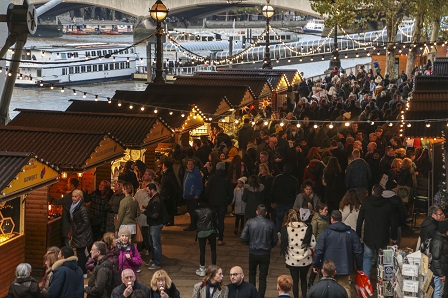 Wintertime Festival at Southbank Centre