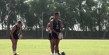 Behind the scenes England Sevens training session
