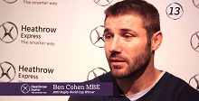 Ben Cohen talks about the 2003 Rugby World Cup Final