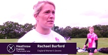 England Women's Rugby Sevens -Team Expression